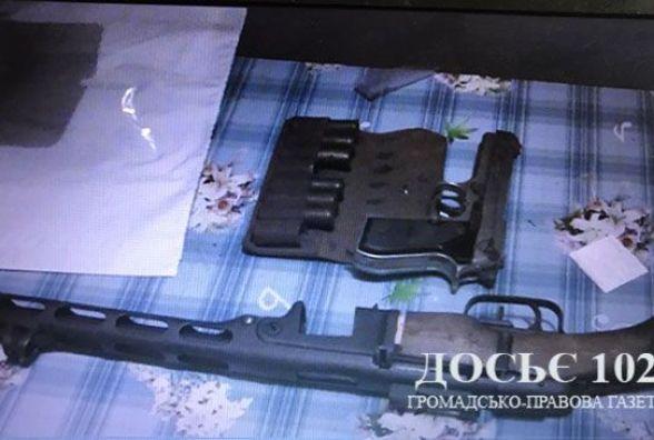 Пістолет-кулемет, набої та вибухівку знайшли у тернополянина