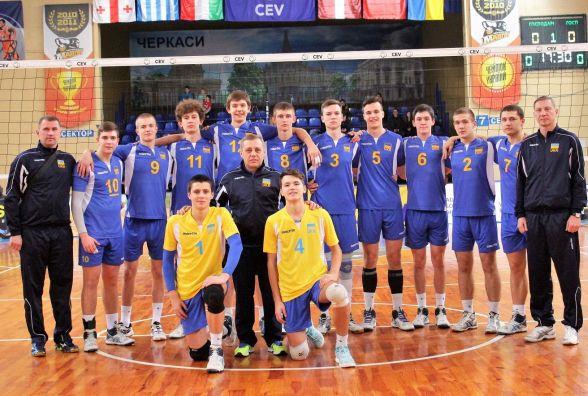 Тернопільські волейболісти вибороли путівки на чемпіонат Європи