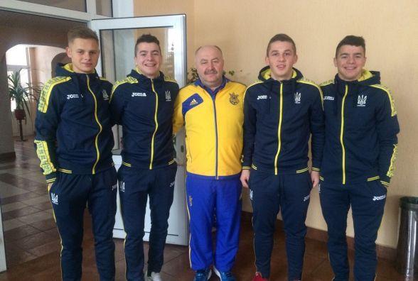 Четверо тернополян виступають у складі студентської збірної України з футболу