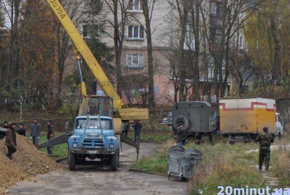 Тернопільськими незаконними будовами займається столична поліція