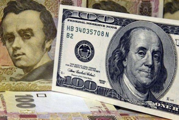 Долар на міжбанку знизився до28,49 грн