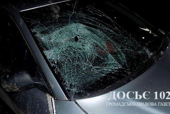 На Збаражчині молодий водій збив маму з донькою і втік з місця ДТП