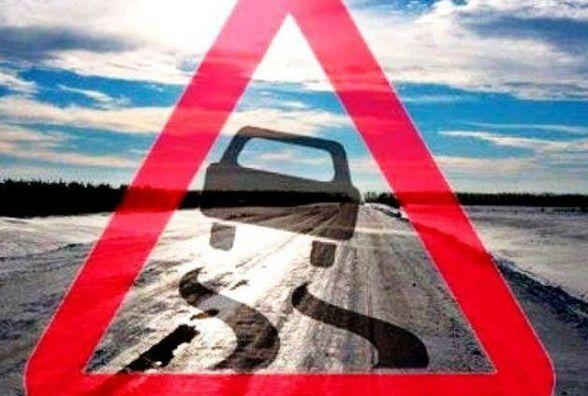 На Тернопільщині Volkswagen врізався в УАЗ: водій на слизькій дорозі хотів обігнати три автомобілі