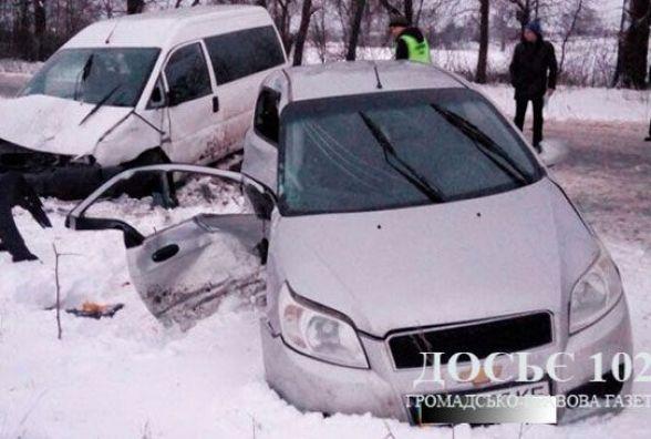 Аварія на Тернопільщині: семеро людей потрапило у лікарню. Серед них – троє сестричок