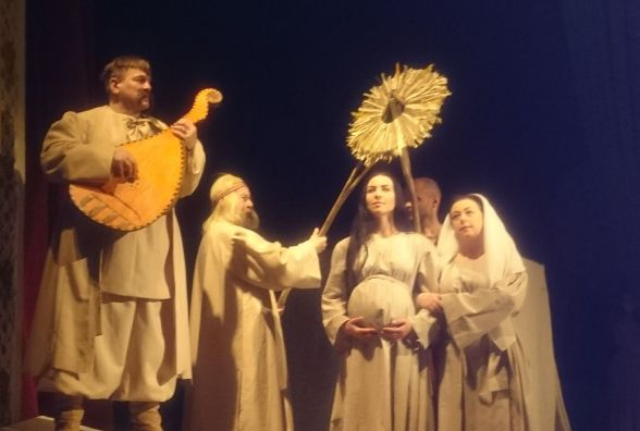 В театрі - прем'єра драматичної містерії «Тарас»