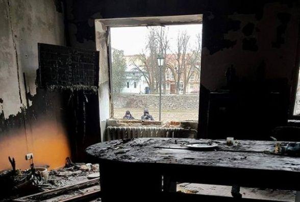 У Борщові вночі підприємцю на подвір'я кинули вибухівку