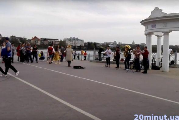 Відео дня:  жива музика на набережній Ставу