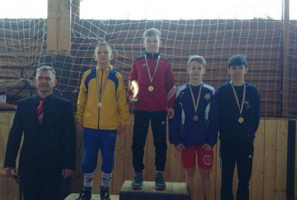 Тернополянин став призером Міжнародного борцівського турніру в Угорщині