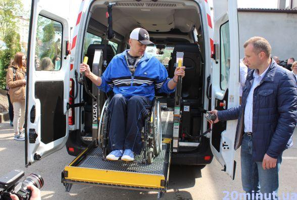 У Тернополі тепер є соціальне таксі для людей з інвалідністю