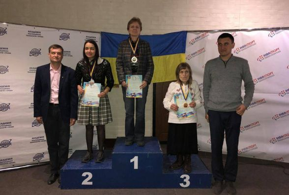 Тернополянка стала призеркою чемпіонату України з шашок-64