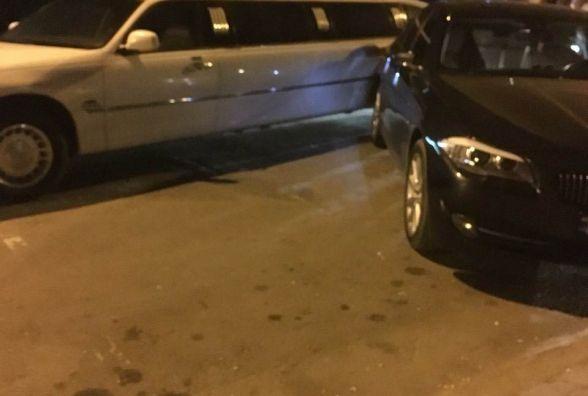 Фото дня: Біля тернопільського РАЦСу пошкодили весільний лімузин