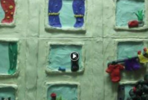 Діти з Чорткова виготовили пластиліновий мультфільм