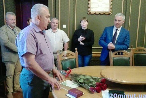 Заступник начальника управління ЖКГ Микола Лесів пішов на пенсію