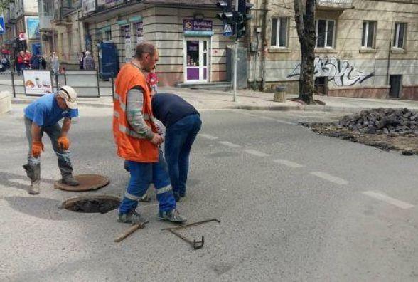 Проїзд транспорту на вул. Шашкевича буде можливий із 25 травня