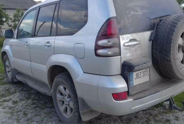 """На Тернопільщині затримали нетверезого чиновника на """"євробляхах"""""""