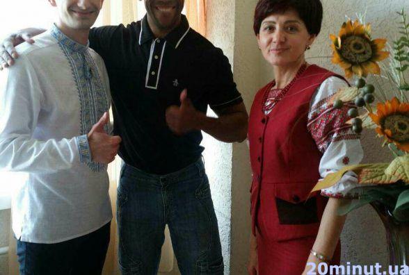 Джессі Бітрус з Нігерії та Роджеріо Мелло з Бразилії приїхали у Тернопіль, щоб навчатися у педагогічному університеті