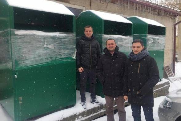 Контейнери для одягу в Тернополі не встановили досі. Бракує коштів на монтаж  та утримання