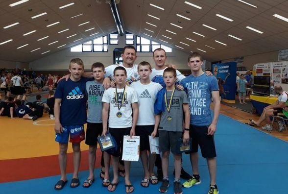Борці з Тернопільщини здобули дві медалі на Міжнародному турнірі у Німеччині