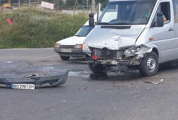 Тернополянка на Гаївському перехресті потрапила у ДТП