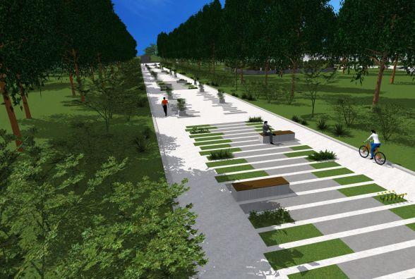 Як виглядатиме Старий парк після реконструкції. Вже є проект