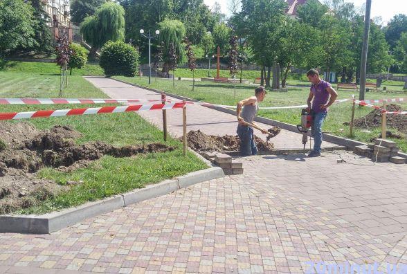 Аераційний фонтан на Ставі тепер буде подвійним