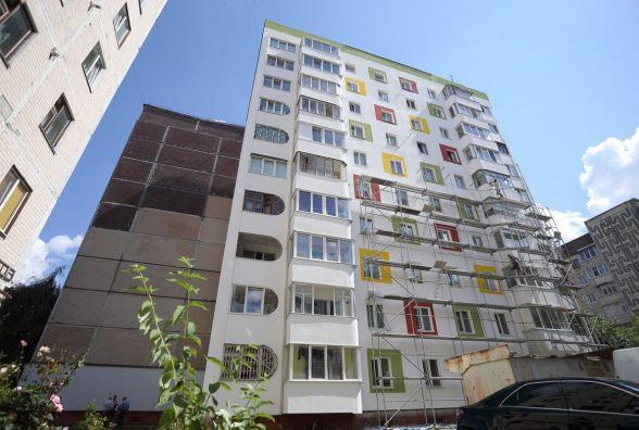 На Вишнівецького утеплюють весь будинок. Люди оплатили 30%