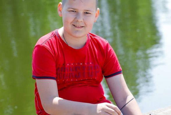 10-річний Максимко потребує вашої допомоги. Допоможіть хлопчику