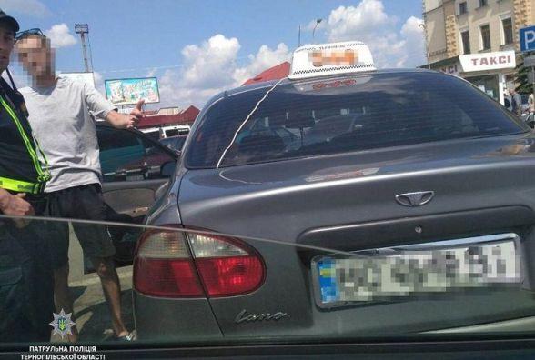 У Тернополі спіймали п'яного таксиста