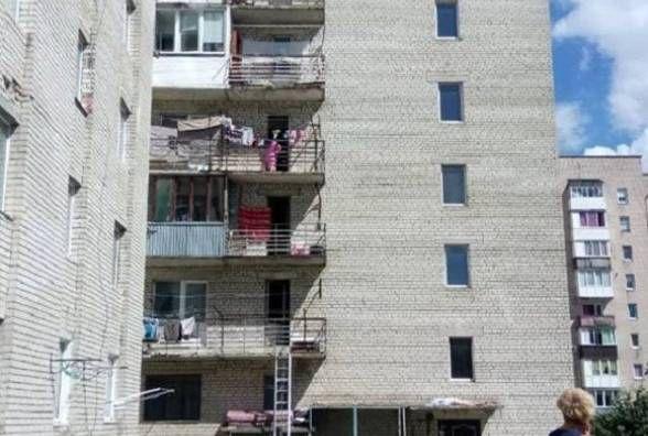 Жінка, яка випала з вікна на Курбаса, напередодні посварилася з сином