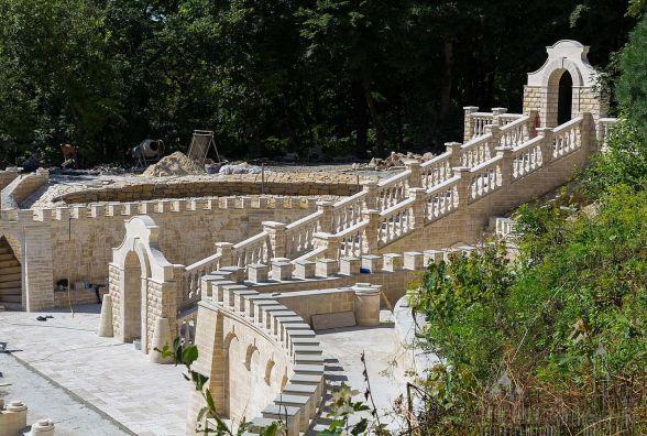 У Зарваниці будують копію Гробу Господнього