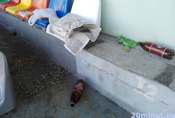 Плюнути соняшником під ноги, залишити пляшки на сидіннях - культура по-тернопільськи