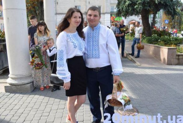 Тернополяни несуть на освячення яблука, груші та цілющі трави
