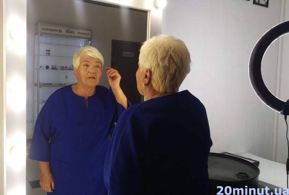 """""""Відчуваю себе на 20"""". Як пенсіонерка Людмила перевтілилась у салоні краси"""