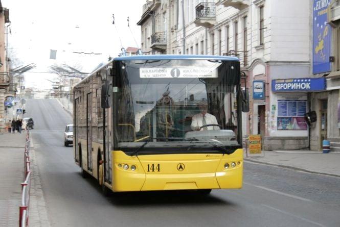 На detransport тепер можна побачити лише рух тролейбусів