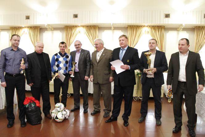 Підсумки футбольного року підбили у Тернополі