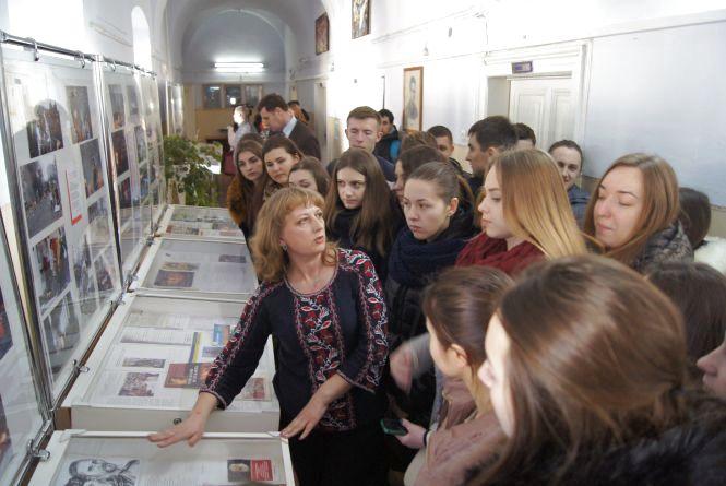 У Тернополі відкрили виставку на честь Небесної Сотні