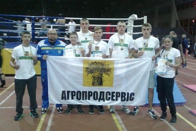 Тернополяни тріумфували на чемпіонаті України з кікбоксингу