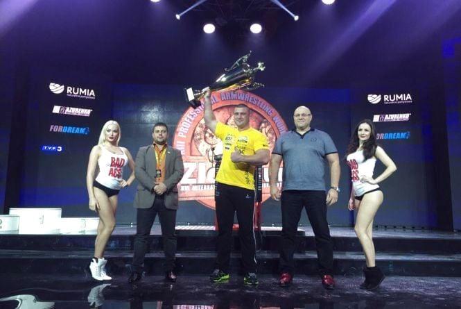 Андрій Пушкар двічі завоював Кубок світу з армспорту