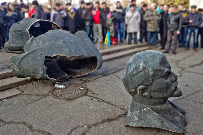 Перший Ленінопад стався 8 грудня