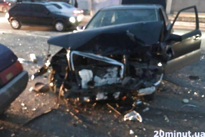 Через п'яного водія постраждало четверо дорослих та 4-річна дитина (ОНОВЛЕНО)