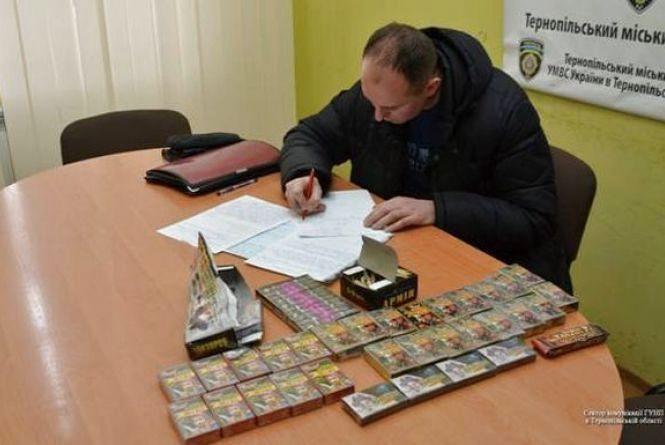 Поліцейські шукали нелегальних торгівців піротехнікою