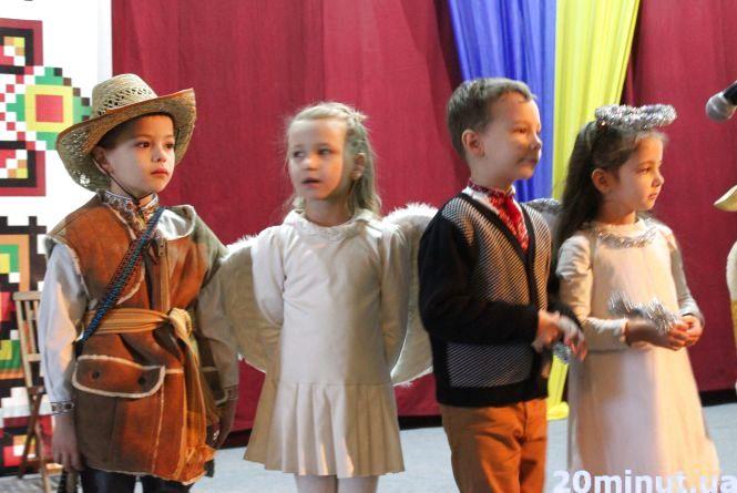 Юні пластуни вітають тернополян з різдвяними святами (ВІДЕО)
