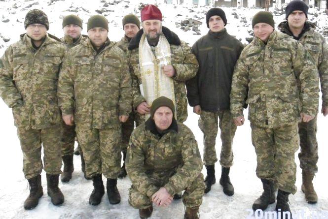 Як відзначили Різдво тернопільські військові в АТО