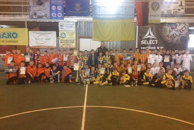 Різдвяний турнір з футзалу у Тернополі виграли господарі