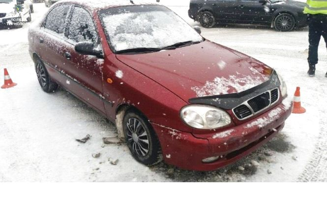 ДТП на БАМі: зіткнулись Mazda, Skoda та Daewoo