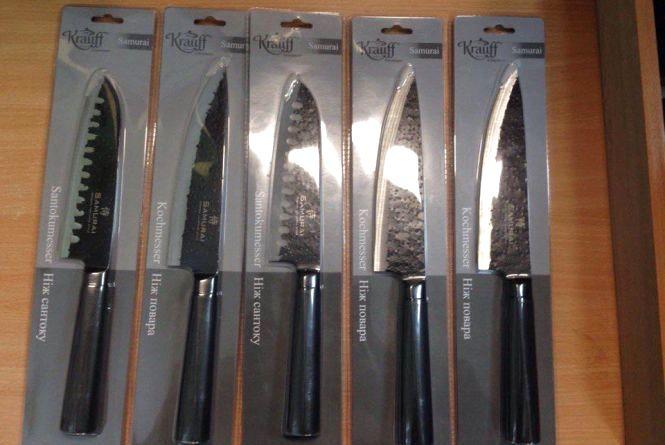 Тернополянин намагався вкрасти набір ножів за понад 2 тис. гривень