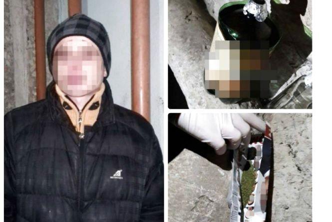 У підвалі патрульні піймали двох наркоманів