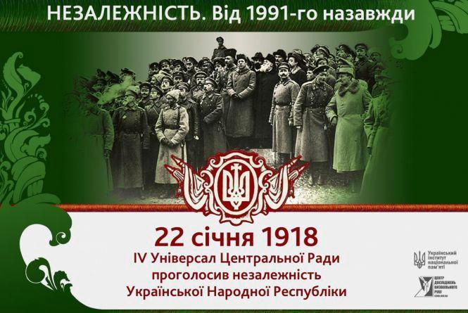 Цей день в історії, 24 січня: було проголошено незалежність УНР