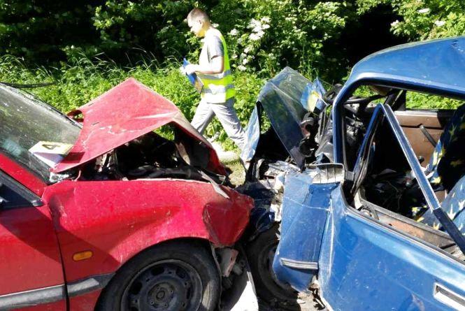 В аварії на Зборівщині загинули троє людей