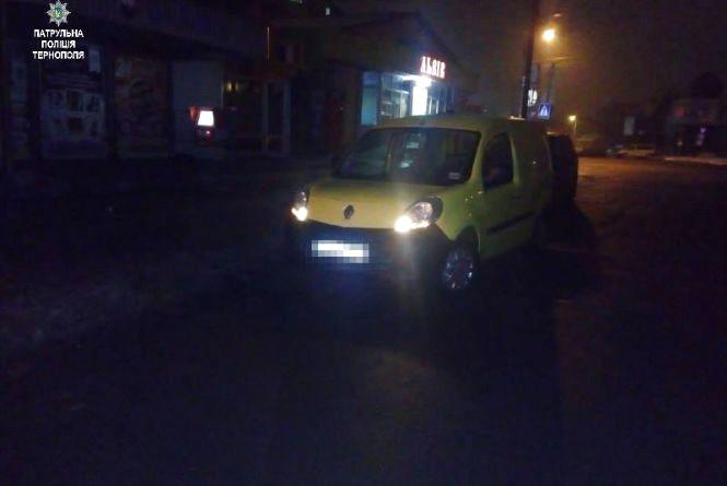 На Львівській автівка збила 19-річну тернополянку